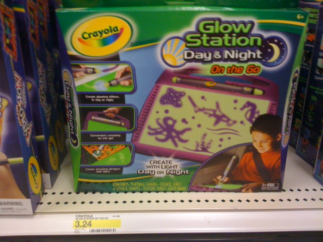 julie s deals target crayola glow station 3 24