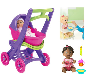 STL Mommy « Baby Alive Doll & On The Go Stroller $33