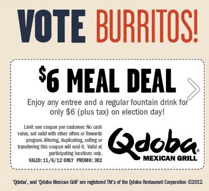 Qdoba coupon code