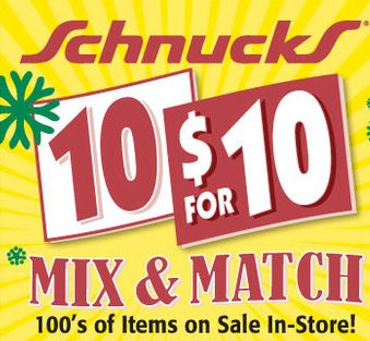 10 for 10 schnucks