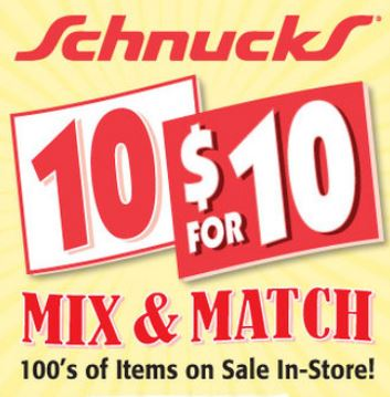 10 for 10 schnuck