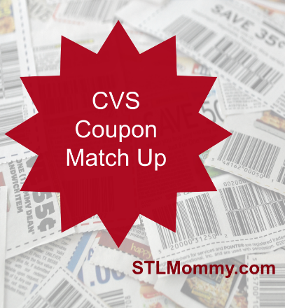 CVS Coupon Match Up September 24th - October 7th - STL Mommy