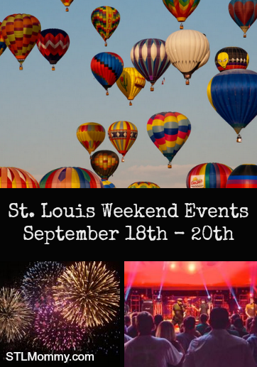 st louis weekend activities events september 18th 20th stl mommy. Black Bedroom Furniture Sets. Home Design Ideas