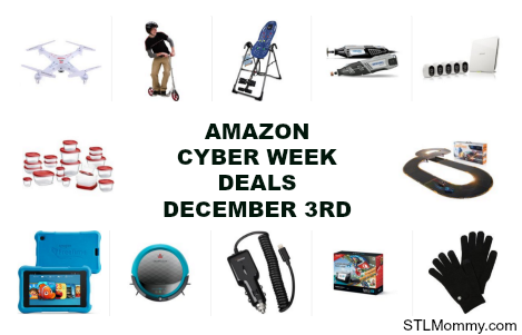 amazon cyber week deals december 3rd stl mommy. Black Bedroom Furniture Sets. Home Design Ideas
