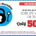 Dierbergs Super Secret Thursday Coupon February 11th