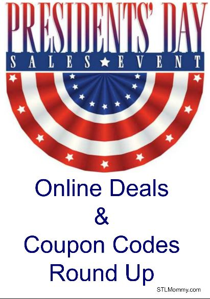 president 39 s day online deals coupon codes stl mommy. Black Bedroom Furniture Sets. Home Design Ideas
