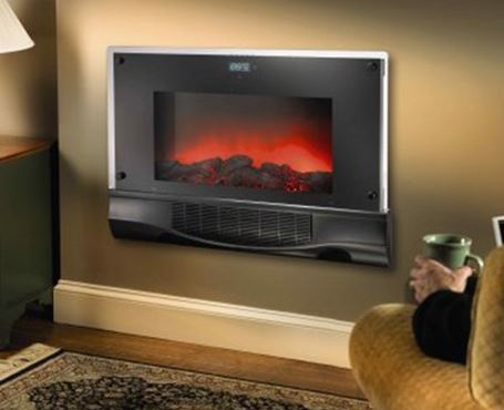 Bionaire Electric Fireplace Heater With Remote Control Retail Stl Mommy