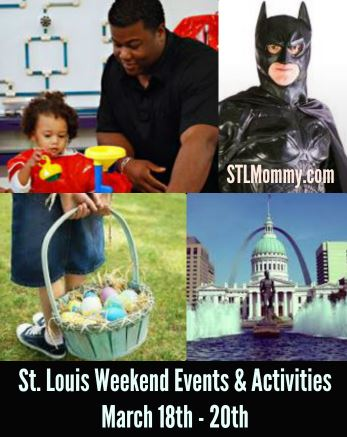 st louis weekend events activities march 18th 20th stl mommy. Black Bedroom Furniture Sets. Home Design Ideas