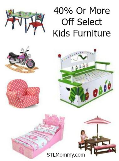 Today Only Save 40 Or More On Select Kids Furniture Stl