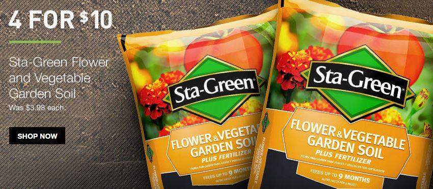 Sta green flower and vegetable garden soil retail stl mommy for Sta green garden soil