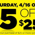 Dollar General Save $5 On Your $25 Purchase *Today Only*