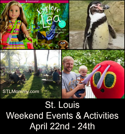 st louis weekend events activities april 22nd 24th stl mommy. Black Bedroom Furniture Sets. Home Design Ideas