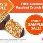 Edible Arrangements – Free Hazelnut Crunch Banana