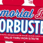 Michaels – 20% Off Entire Purchase Including Sale Items and Memorial Day Doorbusters