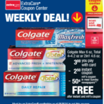 Free Colgate Toothpaste At CVS *Print Now* + Walgreens Deal