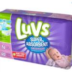 Walmart – Luvs Super Absorbent Leakguard Diapers $2.97