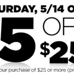 Dollar General – $5 off your $25 Purchase