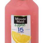 Target – Minute Maid Light Pink Lemonade, 59 oz $1.24