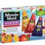 Walmart – Minute Maid Frozen Juice Bars $1.98
