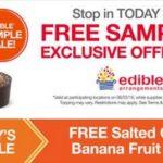 Edible Arrangements – Free Salted Caramel Banana Fruit Truffle