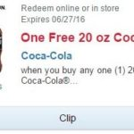 Walgreens – Buy One Get One Free Coca-Cola 20oz Product