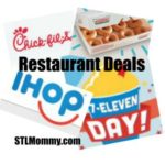 Upcoming Restaurant Deals – Krispy Kreme, Chick-fil-A, IHOP + More