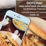 Olive Garden – Free Appetizer Or Dessert For Pokemon Trainers