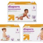 Target – Up & Up Diaper Giant Packs $17.14 (Retail $28.99)