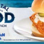 Long John Silver's: FREE Coastal Cod Sandwich Sample Today (11AM-2PM)