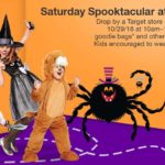 Target – Saturday Spooktacular Event ~ Free Goodie Bags & More