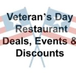 Veteran's Day 2016 – Restaurant Deals, Events & Discounts
