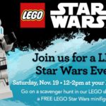 Toys R Us Free LEGO Star Wars Event November 19th
