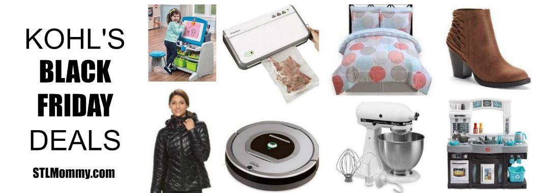 Kohl S Black Friday Deals Appliances Apparel Toys