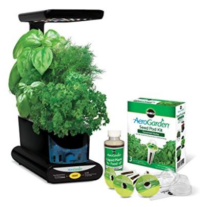 Miracle Gro Aerogarden Sprout Led With Gourmet Herb Seed