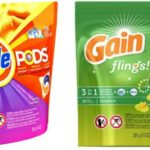 HIGH VALUE $2/1 Tide Pods & $2/1 Gain Flings Coupons = 94¢ at CVS