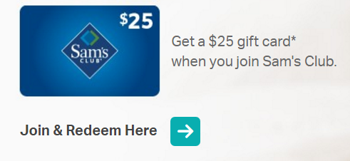 Join Sam's Club For $45 & Get A Free $25 Gift Card - STL Mommy