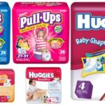 CVS – Huggies Diapers or Pull Ups $3.50 Each
