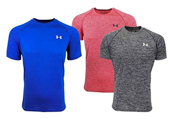 Under armour men 39 s tech t shirts retail for Under armour shirts at walmart