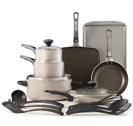 Farberware High Performance 17-Piece Nonstick Cookware Set ...