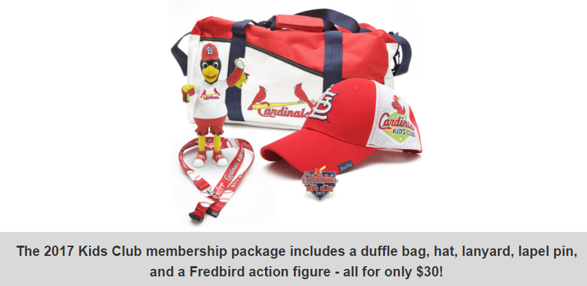 Cardinals Kids Club 2017 - Registration Available Now - STL Mommy