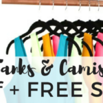 Tanks & Camis – 2 For $20 Plus FREE Shipping
