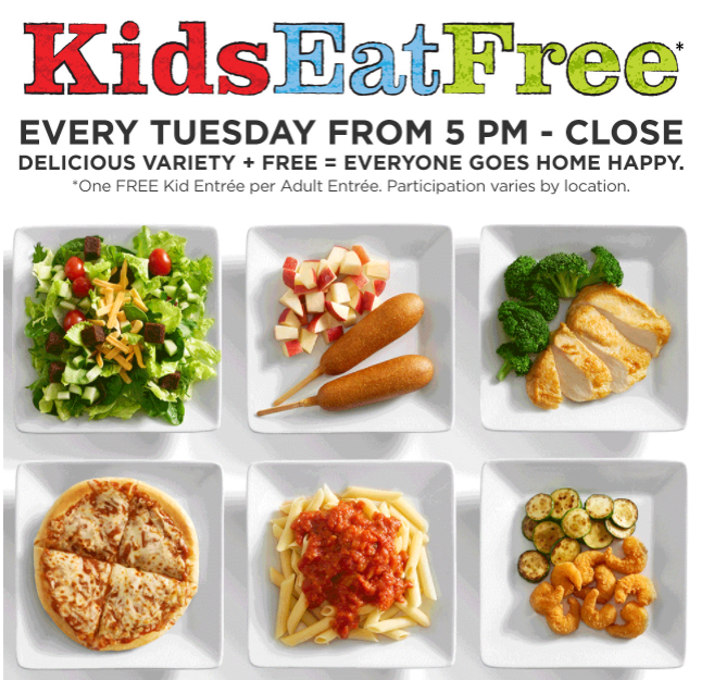 photograph regarding Ruby Tuesday Printable Menu known as Ruby Tuesday - Small children Try to eat Free of charge Tuesday - STL Mommy