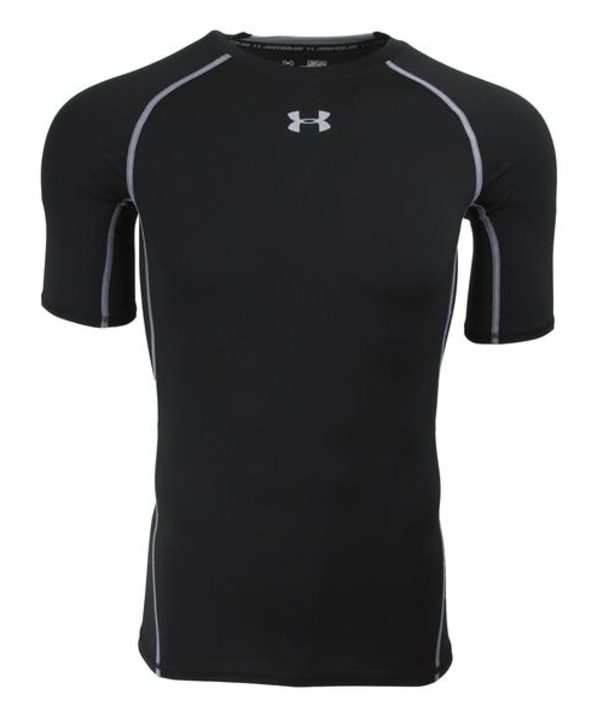 Under armour men 39 s heatgear compression t shirt for Under armour shirts at walmart