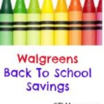 Walgreens Back to School Deals July 20th – August 5th