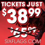 Six Flags Ticket Discount – Purchase Now For $38.99 (Retail $65.99)