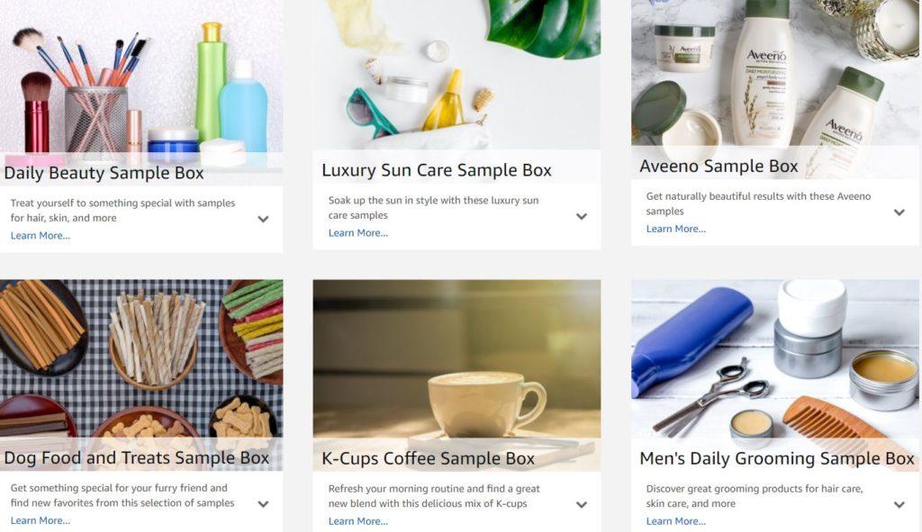 *HOT* New Amazon Sample Boxes - Beauty, Aveeno, Dog Food & Treats + More - STL Mommy