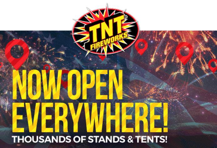 graphic regarding Tnt Fireworks Coupons Printable named TNT Fireworks - Preserve $20 Upon Your $100 Order - STL Mommy