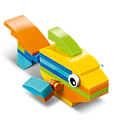 LEGO Store - Free LEGO Fish Mini Build August 8th & 9th