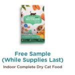 Free Rachael Ray Nutrish Indoor Complete Dry Cat Food Sample