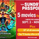 Marcus Wehrenberg Theatres Sunday Passport – 5 Movies For $25